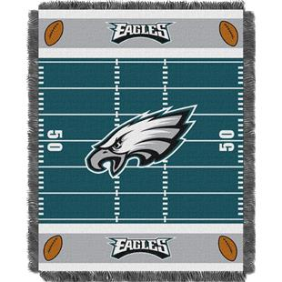 Northwest NFL Eagles Field Baby Woven Throw