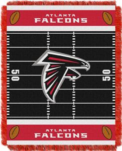 Northwest NFL Falcons Field Baby Woven Throw