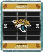 Northwest NFL Jaguars Field Baby Woven Throw