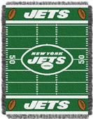 Northwest NFL Jets Field Baby Woven Throw