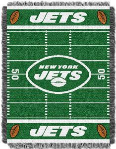 Northwest NFL Jets Field Baby Woven Throw