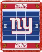 Northwest NFL Giants Field Baby Woven Throw