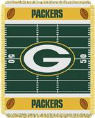 Northwest NFL Packers Field Baby Woven Throw