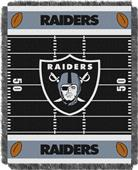 Northwest NFL Raiders Field Baby Woven Throw
