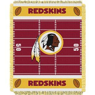 Northwest NFL Redskins Field Baby Woven Throw
