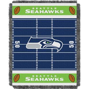 Northwest NFL Seahawks Field Baby Woven Throw