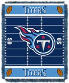 Northwest NFL Titans Field Baby Woven Throw