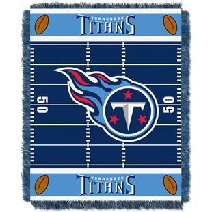 Northwest NFL Titans Field Baby Woven Throw