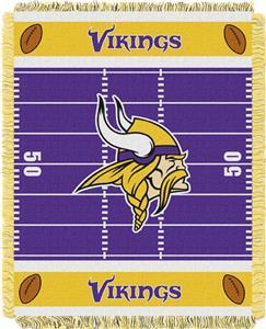 Northwest NFL Vikings Field Baby Woven Throw