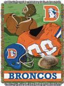 Northwest NFL Broncos Vintage Tapestry Throw