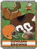 Northwest NFL Browns Vintage Tapestry Throw