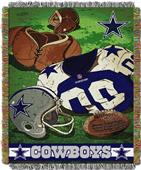 Northwest NFL Cowboys Vintage Tapestry Throw