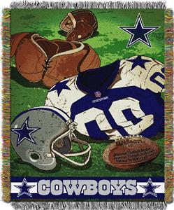 Northwest NFL Cowboys Vintage Tapestry Throw