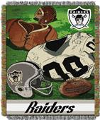 Northwest NFL Raiders Vintage Tapestry Throw