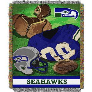 Northwest NFL Seahawks Vintage Tapestry Throw