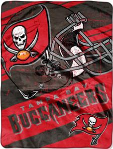 Northwest NFL Buccaneers Deep Slant Raschel Throw