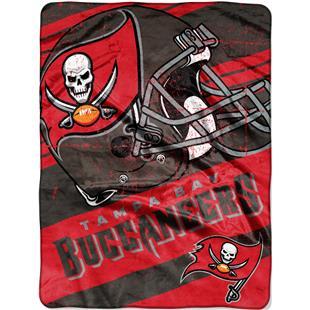 Northwest NFL Buccaneers Deep Slant Raschel Throw