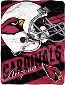 Northwest NFL Cardinals Deep Slant Raschel Throw