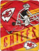 Northwest NFL Chiefs Deep Slant Raschel Throw