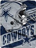 Northwest NFL Cowboys Deep Slant Raschel Throw
