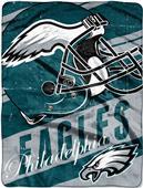 Northwest NFL Eagles Deep Slant Raschel Throw