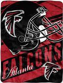 Northwest NFL Falcons Deep Slant Raschel Throw