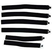 Rawlings Baseball Leg Guard Straps-Set of 6