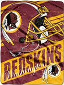 Northwest NFL Redskins Deep Slant Raschel Throw
