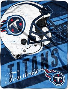 Northwest NFL Titans Deep Slant Raschel Throw