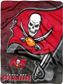 Northwest NFL Buccaneers Bevel Micro Raschel Throw