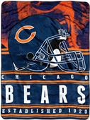 Northwest NFL Bears Stacked Silk Touch Throw