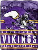 Northwest NFL Vikings Stacked Silk Touch Throw