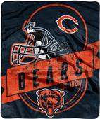 Northwest NFL Bears Grand Stand Raschel Throw