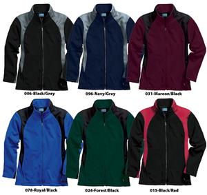 Womens Hexsport Bonded Jacket Full Zip 6 Colors