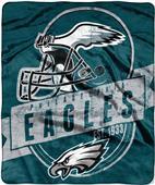 Northwest NFL Eagles Grand Stand Raschel Throw