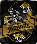 Northwest NFL Jaguars Grand Stand Raschel Throw