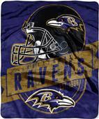 Northwest NFL Ravens Grand Stand Raschel Throw