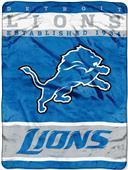 Northwest NFL Lions Raschel Throw