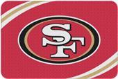 Northwest NFL 49ers Round Edge Bath Rug