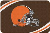 Northwest NFL Browns Round Edge Bath Rug