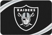 Northwest NFL Raiders Round Edge Bath Rug