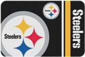 Northwest NFL Steelers Round Edge Bath Rug