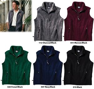 Charles River Ridgeline Fleece Vests Unisex