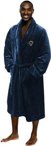 Northwest NFL Rams Mens Silk Bath Robes