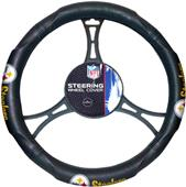 Northwest NFL Steelers Steering Wheel Cover
