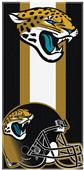 Northwest NFL Jaguars Zone Read Beach Towel