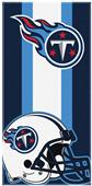 Northwest NFL Titans Zone Read Beach Towel