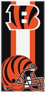 Northwest NFL Bengals Zone Read Beach Towel