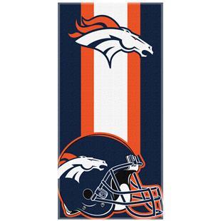 Northwest NFL Broncos Zone Read Beach Towel
