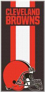 Northwest NFL Browns Zone Read Beach Towel